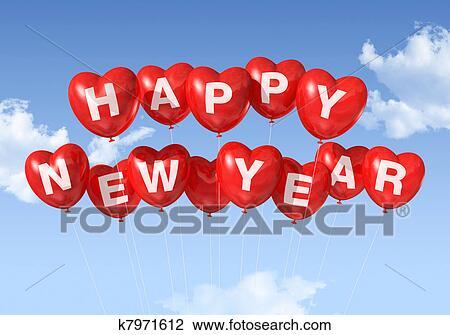 clip art of happy year heart