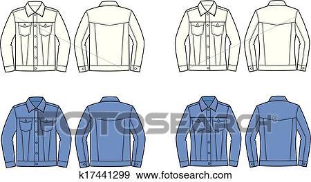 jeans jacket clip art