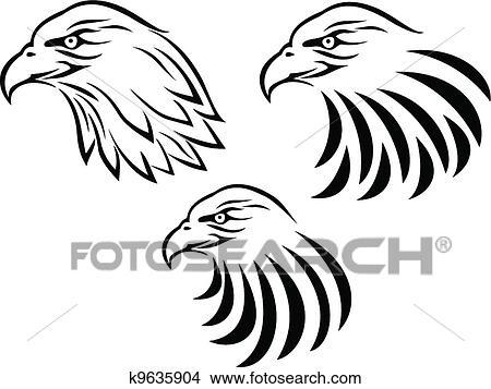 Dibujos - águila cabeza tatuaje k9635904 - Buscar Clip