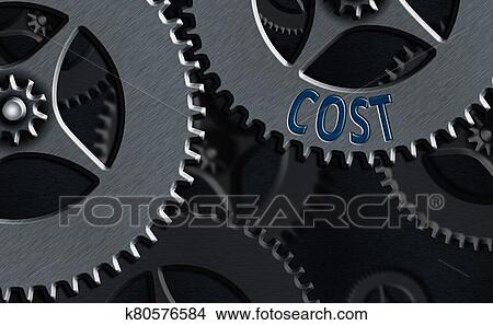 Word writing text Cost. Business concept for The amount that usualy paid for a item you buy or hiring a demonstrating. Stock Illustration ...