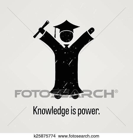 knowledge is power clipart