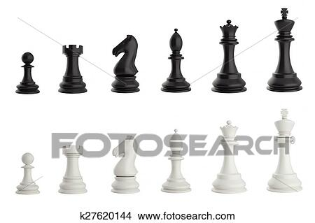 set of black and