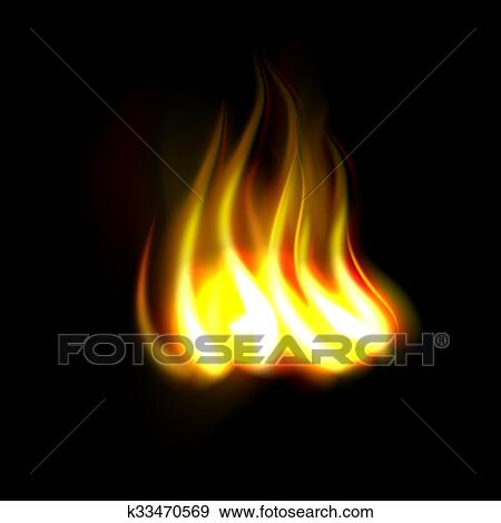new realistic fire flame