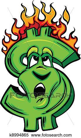 剪圖Clipart - 燃燒, 錢, 卡通, 臉 k8994865 - 搜尋美工圖片,插圖壁畫,圖示和向量 EPS 圖像 - k8994865.eps