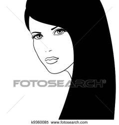 face clipart fotosearch vector illustration clip graphic