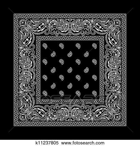 Crip Girl Wallpaper Clipart Of Bandana 2 Black K11237805 Search Clip Art