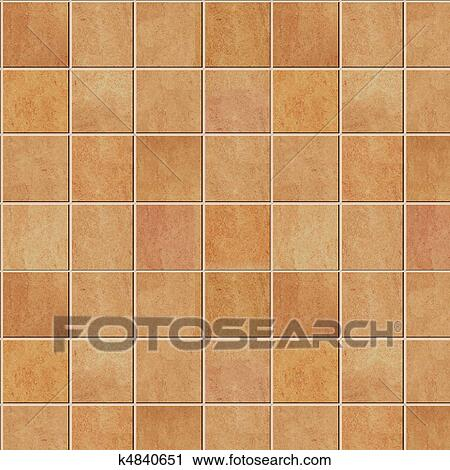 Ceramic tile texture Clip Art | k4840651 | Fotosearch