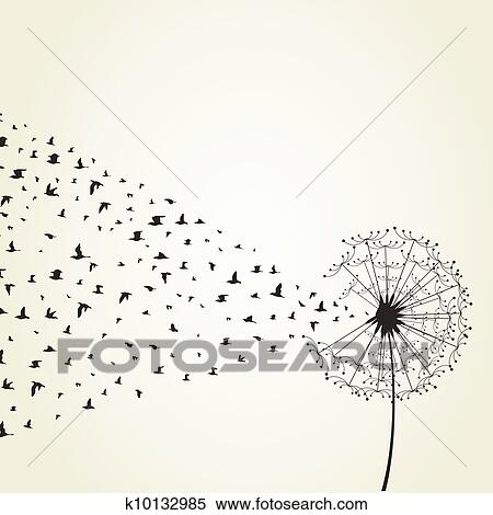 dandelion clipart k10132985