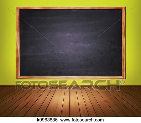 Stock Illustration of Classroom Background k9963886