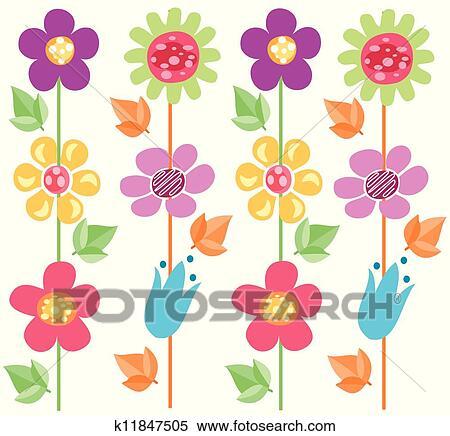 剪圖Clipart - 花, 圖案, 2 k11847505 - 搜尋美工圖片,插圖壁畫,圖示和向量 EPS 圖像 - k11847505.eps