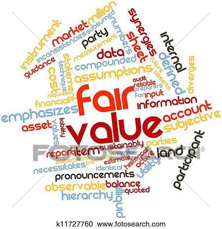 Fair value Clipart | k11727760 | Fotosearch