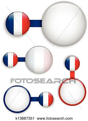 clipart of vector - france country