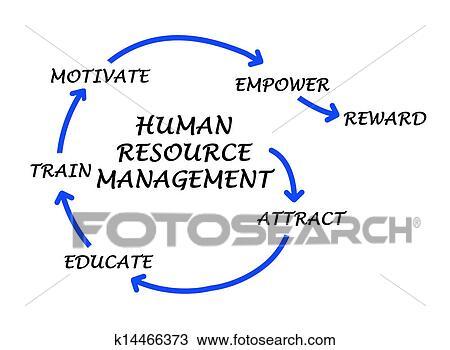 Stock Photo of human resource management k14466373