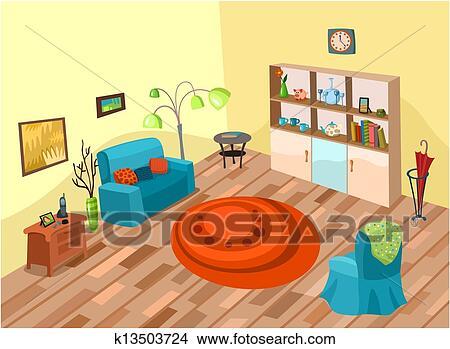 Zimmer Clipart  k13503724  Fotosearch