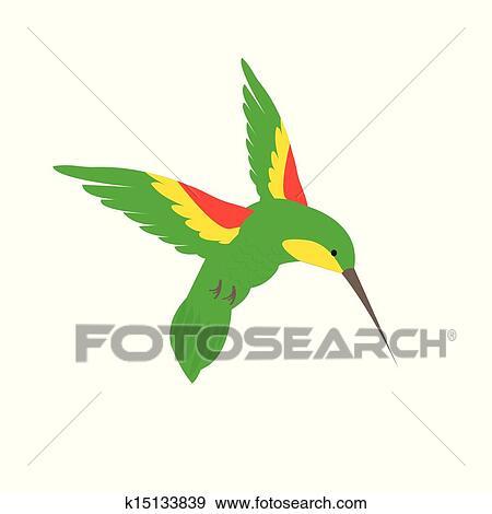 clip art of hummingbird feeding