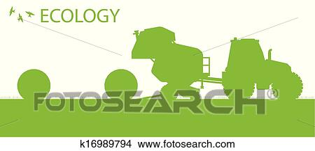 clipart of ecology background organic