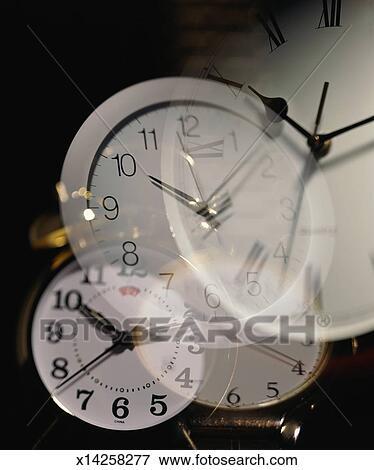 multiple layers of clocks