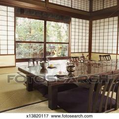 Japanese Table And Chairs Low Back Lawn Chair Picture Of Room Wit Tatami Mat Shohoji Doors