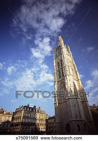 France Gironde Bordeaux Cath Drale Saint Andr Low