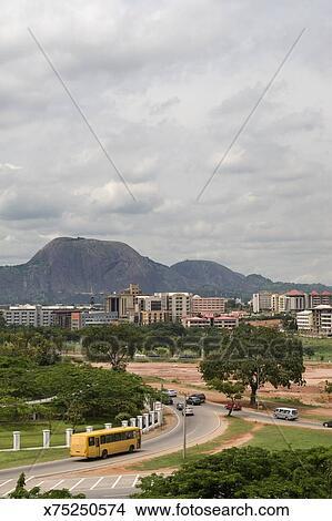 Abuja Cityscape Picture | x75250574 | Fotosearch
