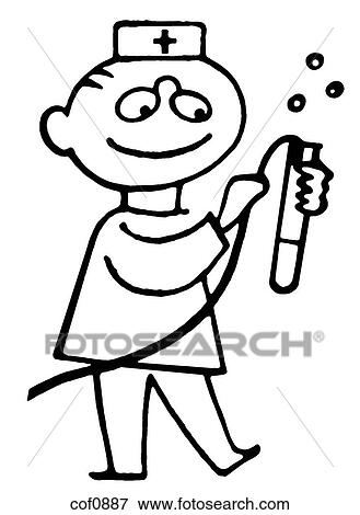 A black and white version of a cartoon style drawing of a