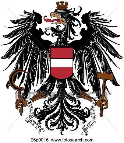 Clip Art of austria 06p0016 Search Clipart Illustration