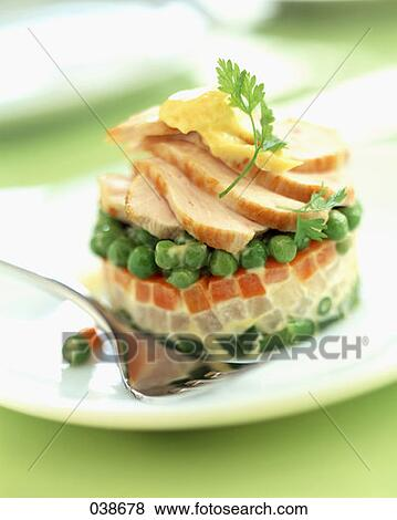 timbale mixed vegetables