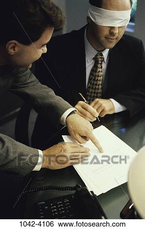 Image result for signing blindfolded