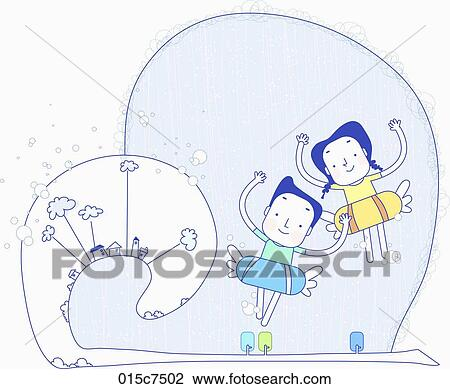 clip art of couple in togetherness