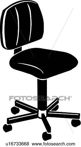 office chair illustration medicine ball exercises clip art of u16733668 search clipart
