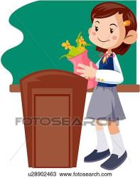 clipart junior student middle adolescents clip vector clipground fotosearch drawings