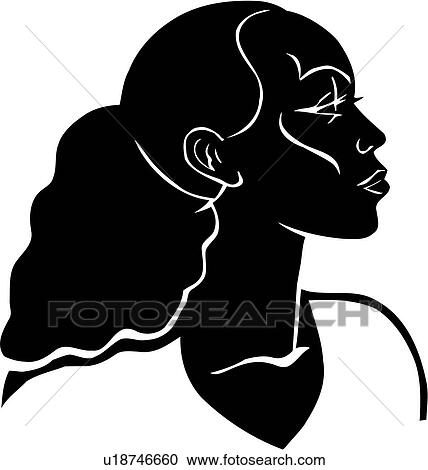 20 Black And White Clip Art African American Women Ideas And Designs