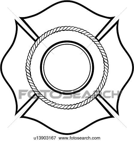 Clip Art of , cross, department, emergency, emergency