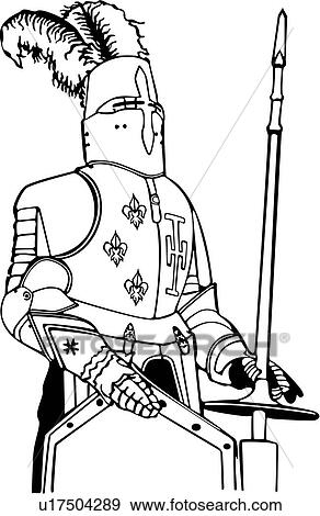 , armor, medieval, weapon, knight, weapons, Clip Art