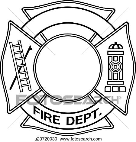 Clipart of , chief, cross, department, emergency
