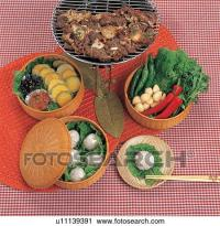 Stock Photography of korea culture, cuisine, table setting ...