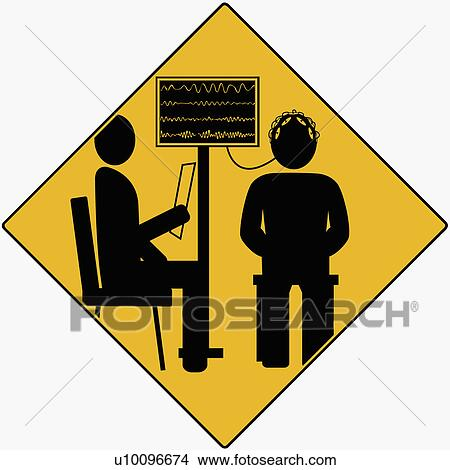 Doctor taking a patient's IQ test Stock Illustration | u10096674 | Fotosearch