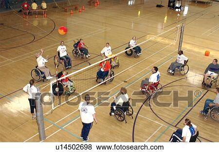 wheelchair volleyball good office chair pictures of several people with disabilities playing a game picture on an indoor court