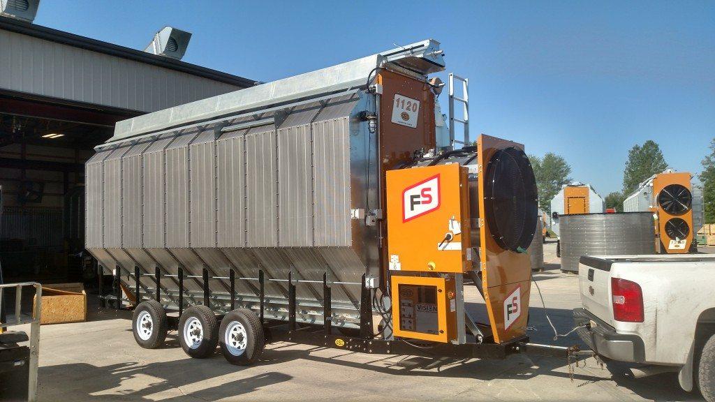 Continuous Flow Dryer  FS Construction Services