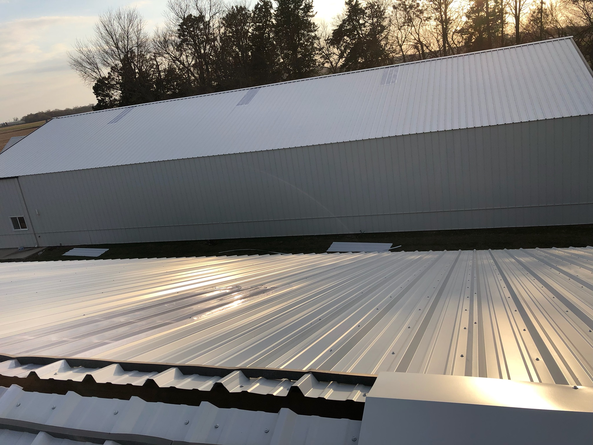agricultural new roof