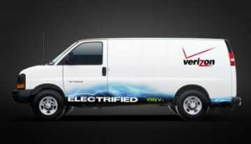 1a702a832b Last month we wrote in this space about how AT T was making a bid to  green-ify its commercial fleet of work vans by purchasing over a thousand  Chevy Express ...
