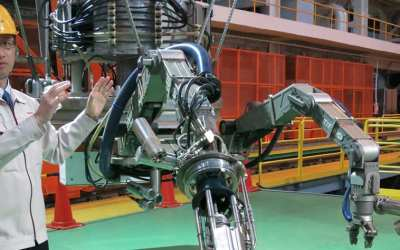 Toshiba Creates Giant Robot to Clean Up Fukushima's Nuclear Disaster