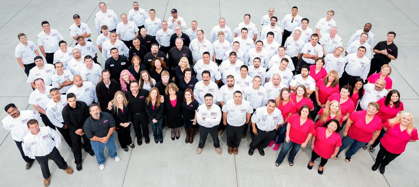 ICYMI: In San Diego, Pink Vans Mean Happy HVAC Customers
