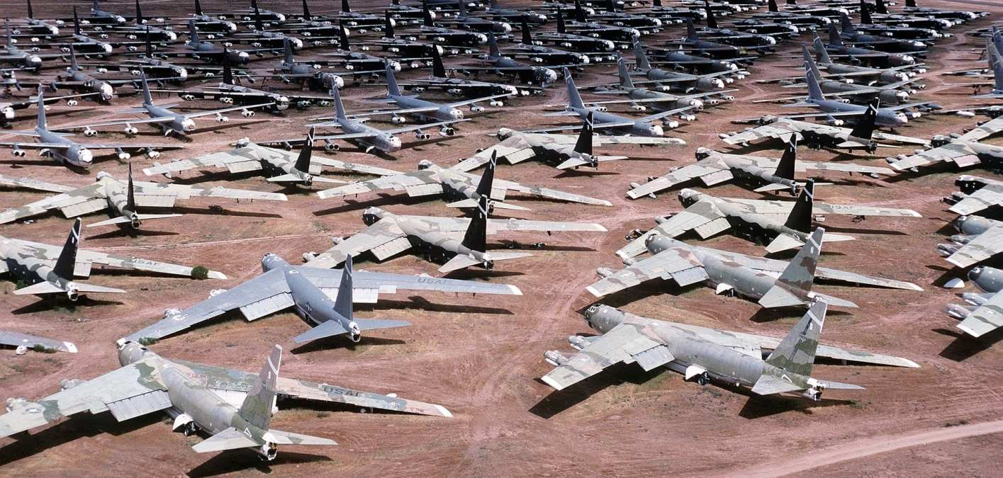 Scorpions in the Fuselage: Tales from an Airplane Boneyard