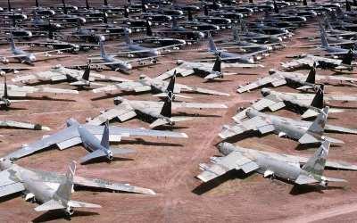 Scorpions in the Fuselage: Tales from an Airplane Boneyard