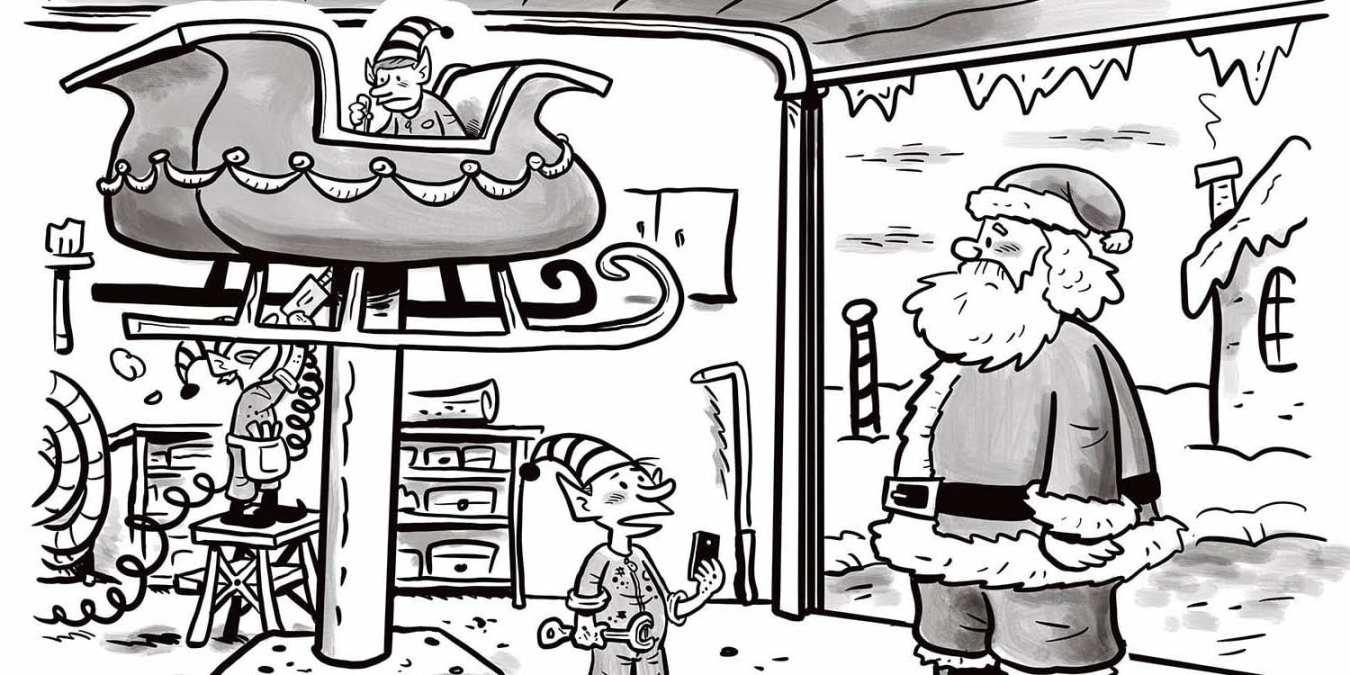 Comic Brake: A Christmas Disaster