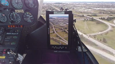 Surveying at 4,000 Feet: 1 Rugged Tablet, 3D Imaging and a Bit of Laser Light