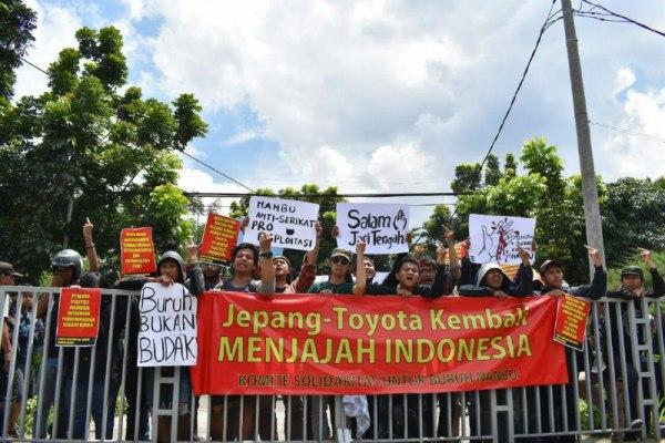 solidaritas untuk buruh nanbu