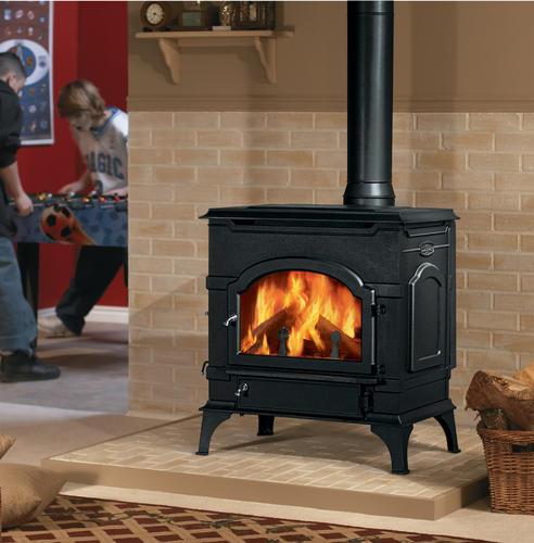 wwwFSfireplace DutchWest 2479 NonCatalytis Wood Stove  Large