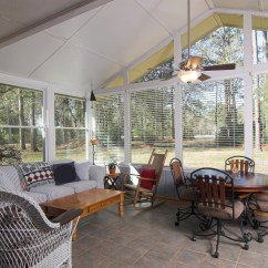 Screen Porch Lounge Chairs Broyhill Big And Tall Office Chair Sunrooms Lynchburg Four Seasons Residential